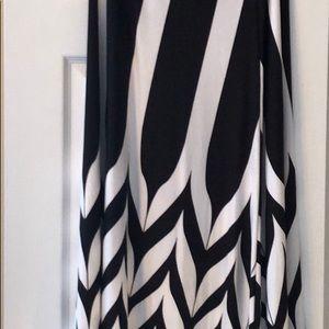 Set of beautiful a-line maxi skirts.